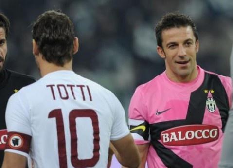 Photo Gallery of The European Soccer World juventus roma totti del piero – Euro Soccer Web