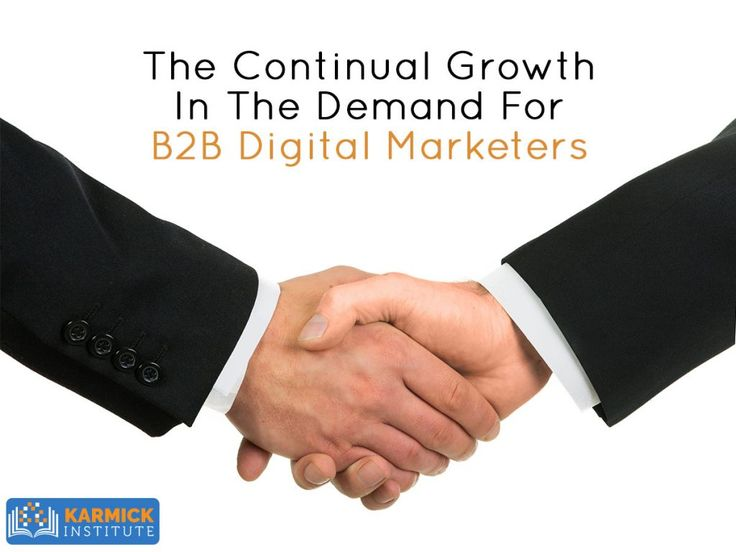The Continual Growth In The Demand For B2B Digital Marketers http://ht.ly/araW30euZFl #DigitalMarketing #career