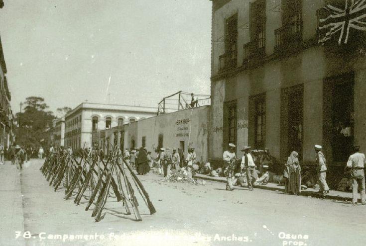 Calle de Nuevo Mexico, hoy articulo 123. Antes ahi estaba la Embajada de Reino Unido
