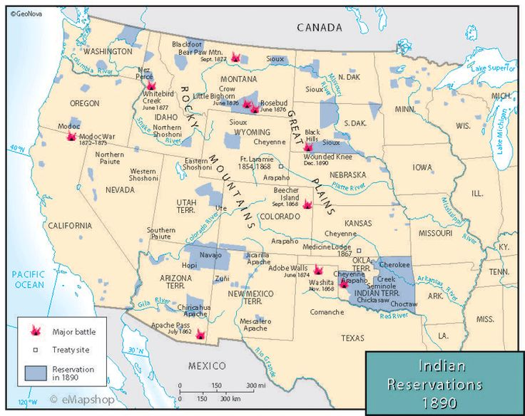 Indian Reservations 1890 Here Are The Locations Of All The Indian Reservations In Western Us As Of 1890 Native Americans Life Pinterest Indian