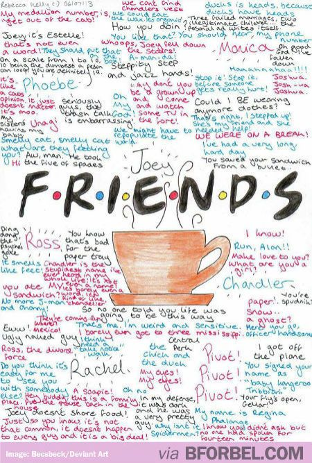 The Best F.R.I.E.N.D.S Quotes…