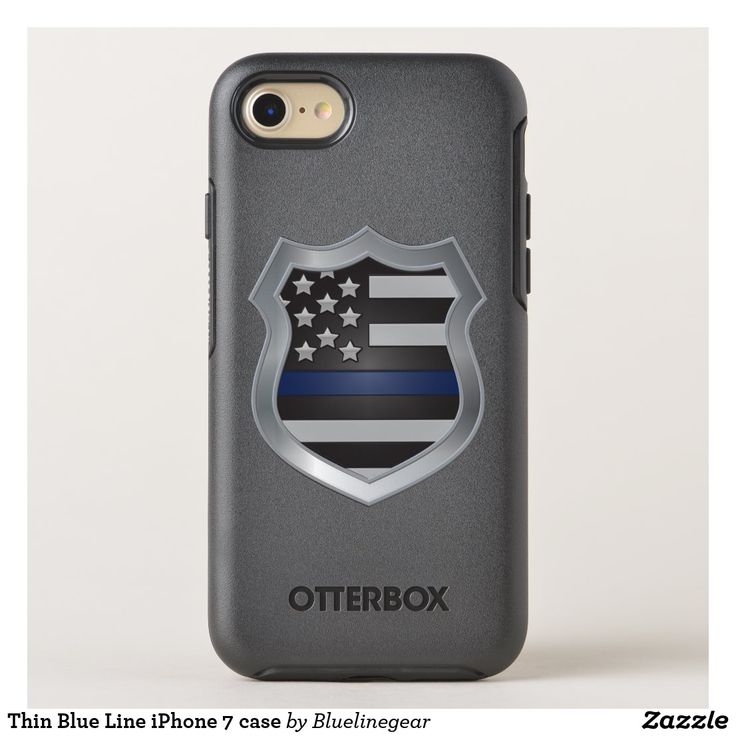 Thin Blue Line Iphone 7 Case Phone Cases Aesthetic Phone Cases Painted Phone Cases Diy Phone Cases Cute Phone Cases Vin Iphone 7 Hullen Iphone 7 Iphone