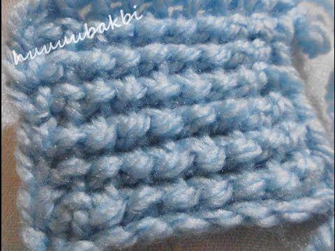 Tunisian Stitch,tunisian crochet,tunus işi örnek