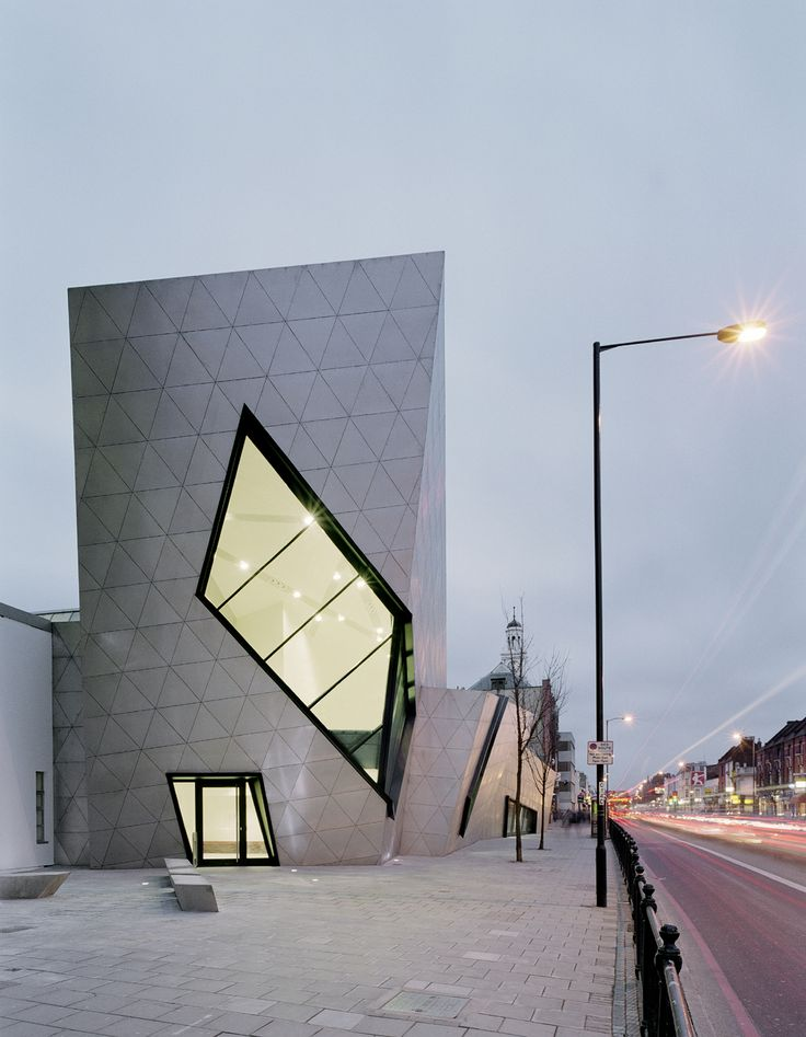 London Metropolitan University Graduate Centre - Libeskind #architecture #design