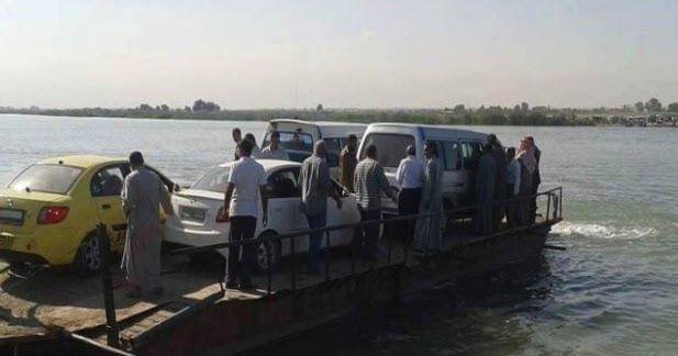 La distruzione di 4 ponti sul fiume Eufrate  iniziata a partire dalla fine di settembre nella località di Deir Ezzor da parte di aerei della...