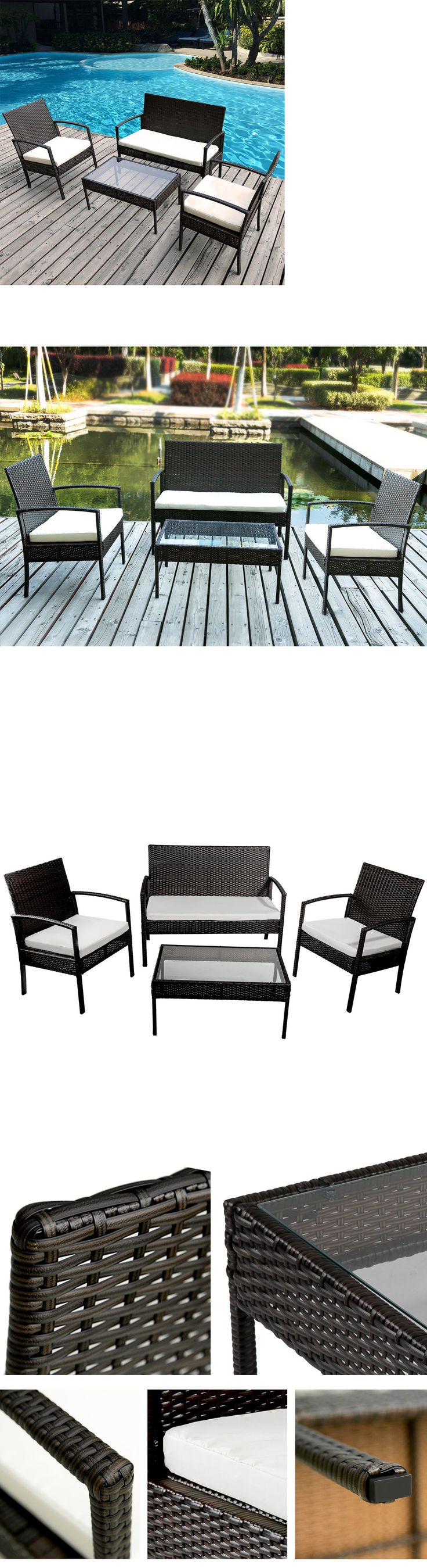 Best 25 Rattan furniture set ideas only on Pinterest