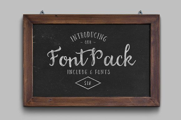 Font Pack by mysunday on @creativemarket