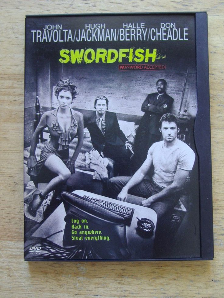 Dvd Original - Swordfish (password Accepted)