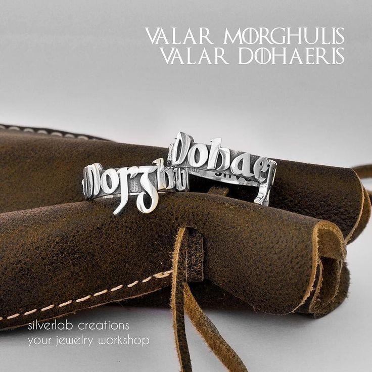 """Valar Morghulis! Valar Dohaeris!"""