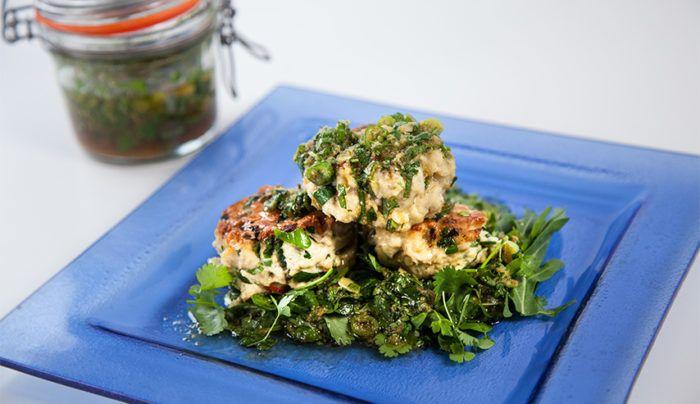 Chicken, Ginger & Coconut Meatballs | Good Chef Bad Chef