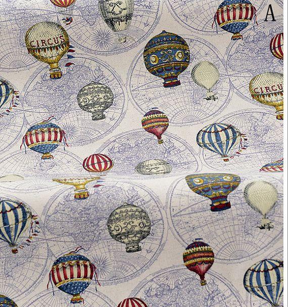 Vintage Fire Balloon Circus Balloon World от Watermelonbaby2013