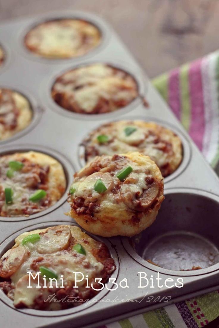 HESTI'S KITCHEN : yummy for your tummy...: Mini Pizza Bites