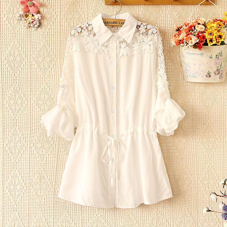Ucuz Doğrudan Çin Kaynaklarında Satın Alın: ücretsiz kargo 2014 kadın t- shirt ince ince şifon bluz vahşi shirt büyük boy s- xxxxlUs$ 17.90/piece yeni moda 2014 bahar tarzı bayan uzun