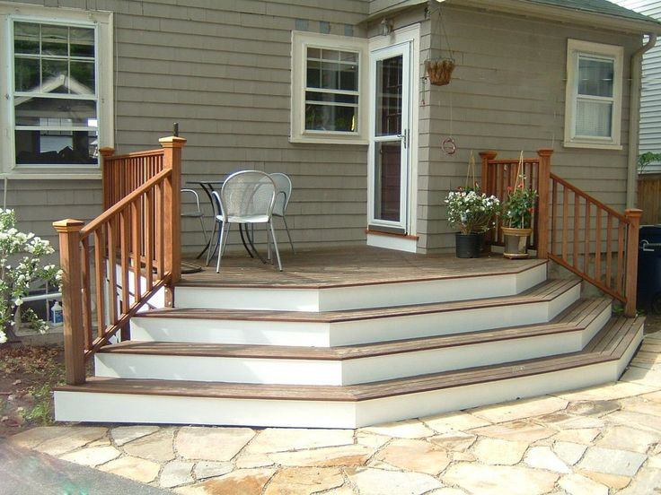 top 25+ best patio stairs ideas on pinterest | front stairs, deck ... - Patio Step Ideas