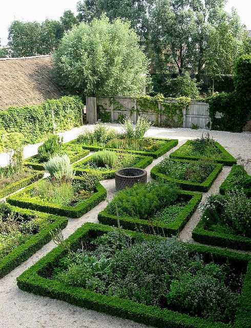 Medieval Herb Garden by Haaglander, via Flickr