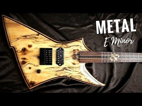 4) Wild Majestic Metal | Guitar Backing Track Jam in E Minor