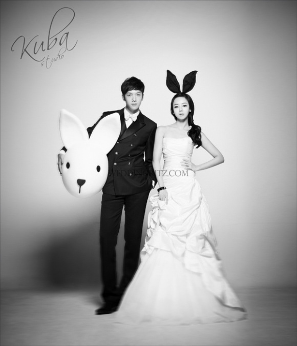 Korea Pre-Wedding Photoshoot - WeddingRitz.com » Kuba Studio 2012 Sample Collection (Kim Yong Jun & Hwang Jung Eum Couple from We Got Married 2)
