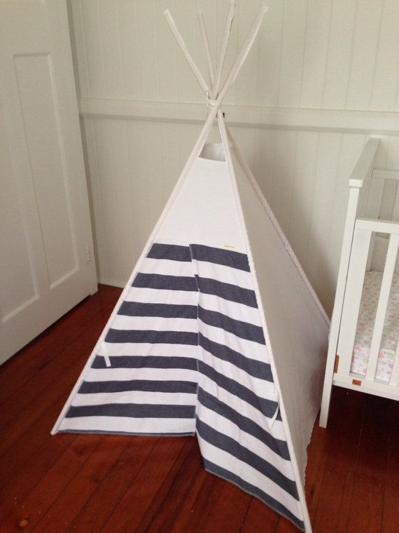 Gender neutral Tepee/ teepee including poles. by NestNFeather