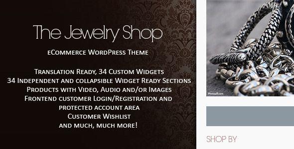 The Jewelry Shop - WordPress eCommerce