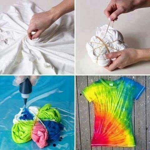 Coloring my shirt