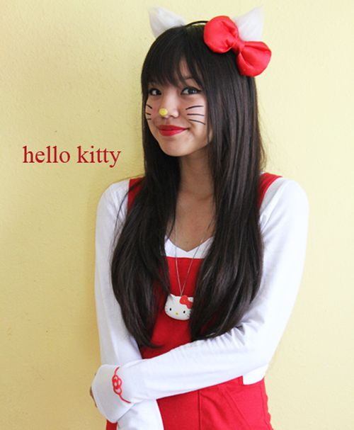 1000+ Images About Hello Kitty Costume Ideas On Pinterest