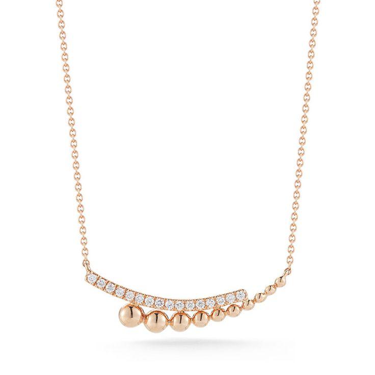 Poppy Rae Diamond Necklace : Dana Rebecca Designs
