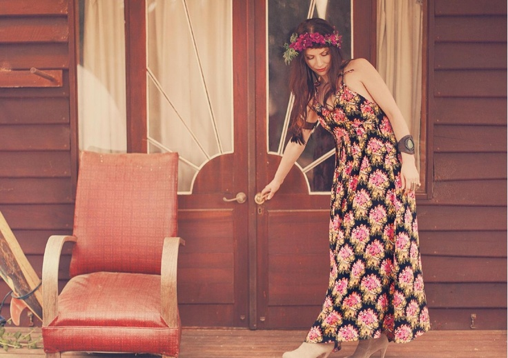 Psychedelic Flower Maxi