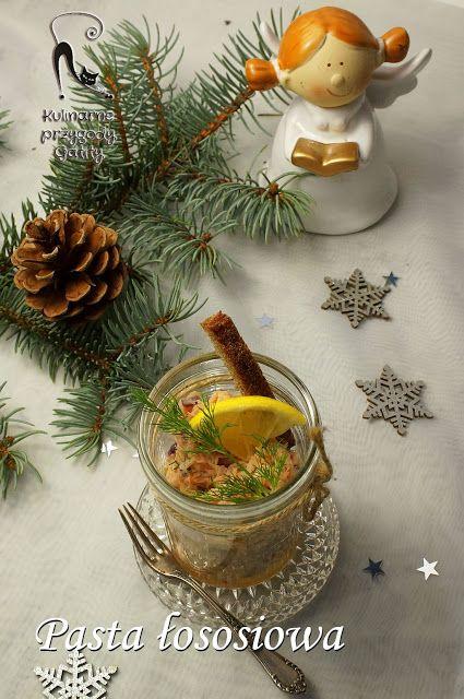 Kulinarne przygody Gatity - przepisy pełne smaku: Pasta z łososia