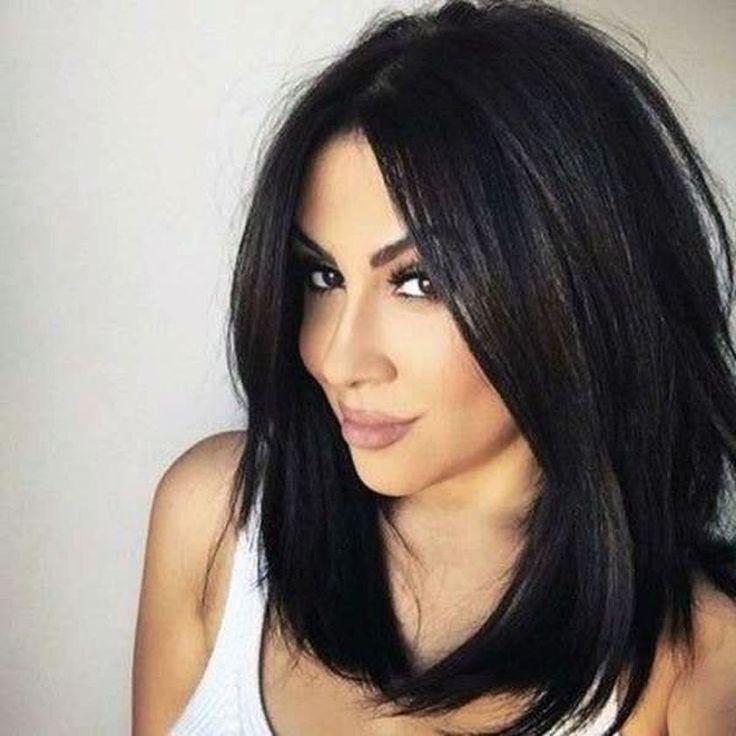 41 erstaunliche Frauen-Haarschnittideen für schwarzes Haar
