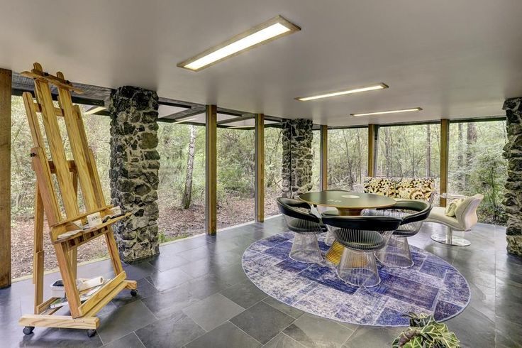 564 best architecture design images on pinterest for Mid century modern architects houston