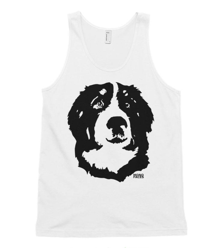 Bernese Mountain Dog Unisex Tank Top, Personalized Summer Tank Tops, Dog Dad Shirt, Fathers Day Gift, Tank Top Men, Dog Memorial Gift by MONOFACESoADULT on Etsy