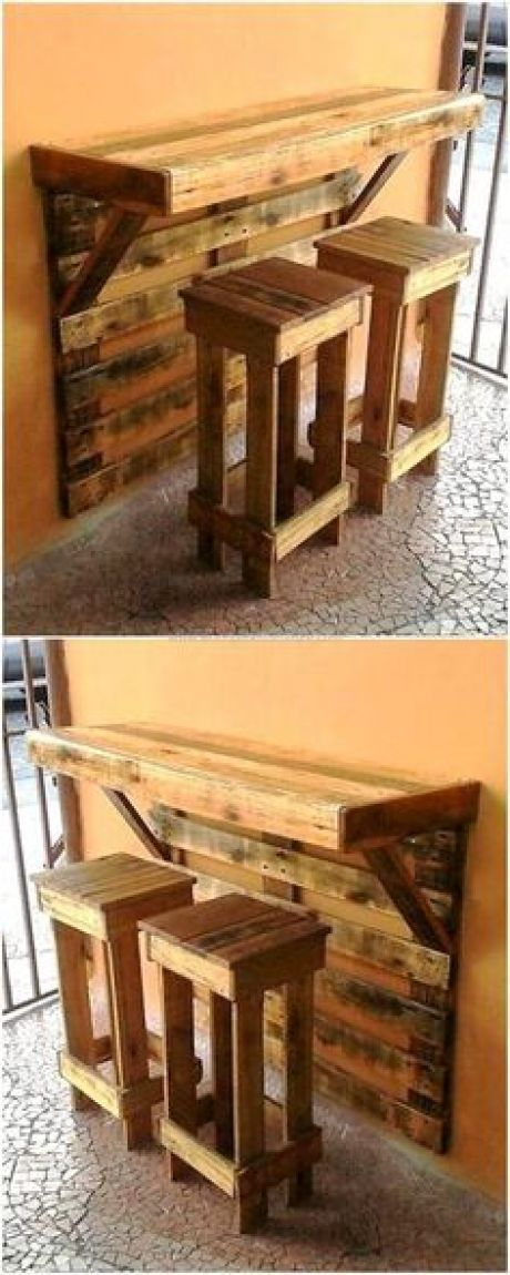 Dies ist ein kunstvoll konstruierter Frühstückstisch aus Palettenholz, der Ihren Kindern einen wunderbaren Platz bietet, damit sie ihr Frühstück e …