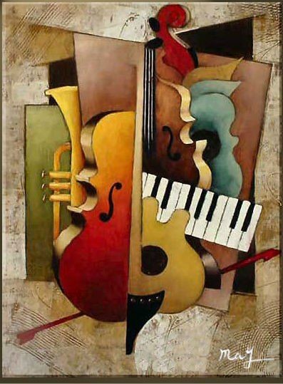 las mejores pinturas abstractas al oleo - Buscar con Google