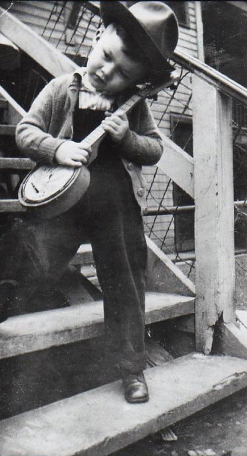Robbie Robertson c1946 (born Jaime Royal Robertson in Toronto 1943)