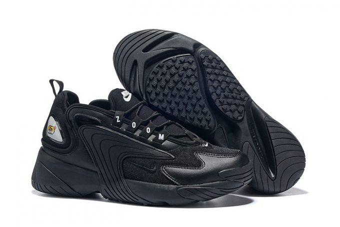 "36efd162945478 Nike Zoom 2K ""Triple Black"" AO0269-002 Releases December 26 in 2019 ..."