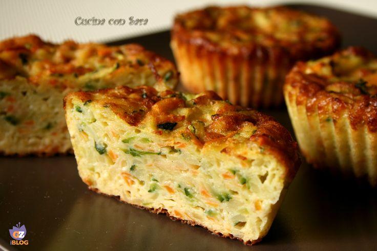 Tortino di verdure. Tra le ricette vegetariane, amo moltissimo i tortini di verdure: sono semplici da fare, veloci e molto sfiziosi