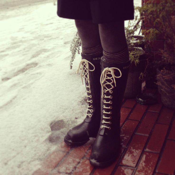 Amazon com: ILSE JACOBSEN Women s Rub 1 Rain Boot: Shoes