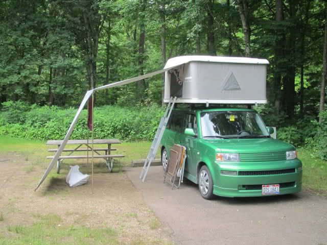 Camping With My Xb And New Rtt Scionlife Com Toyota Scion Xb Scion Xb Scion