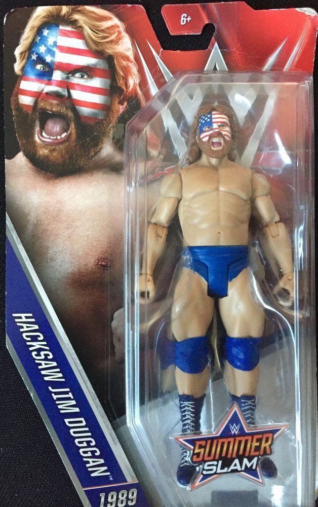 WWE summer slam hacksaw jim duggan #WWE