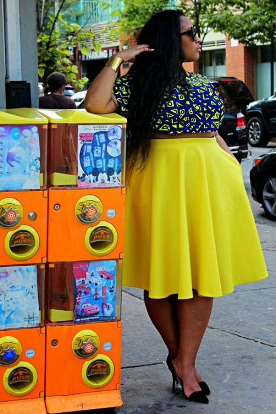 3 looks de primavera ideales para chicas Plus Size