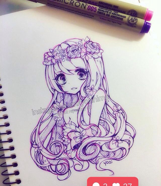 By Yoahime^^ I found her on Instagram. She is so amazniiing *^*  Xoxo