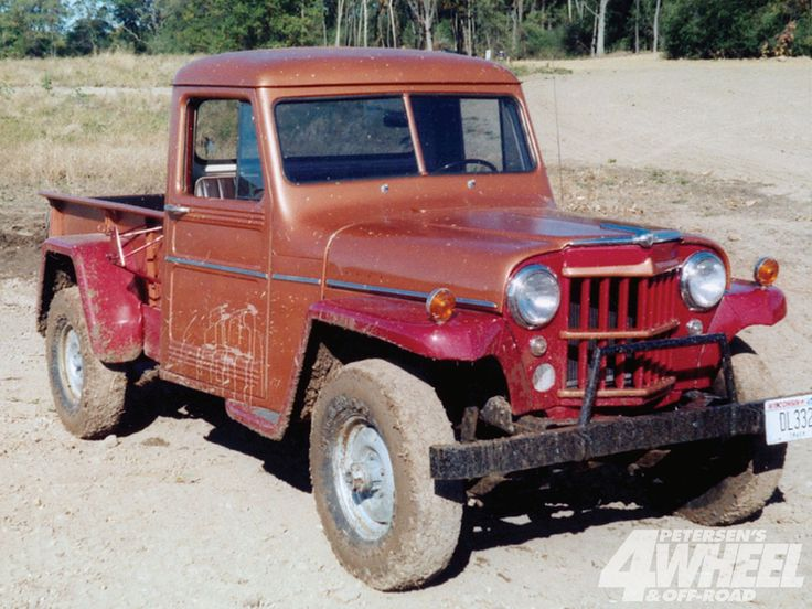 """willys pickups   IMCDb.org: 1947 Willys Jeep Pickup Truck in """"Route 66, 1960-1964"""""""