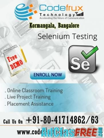 Online Mobile application testing training at CodeFrux Technologies