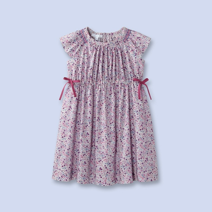 jacadi - liberty dress- I LOVE this style and would love to make one for my daughter- without the smocking  -- Any pattern suggestions?
