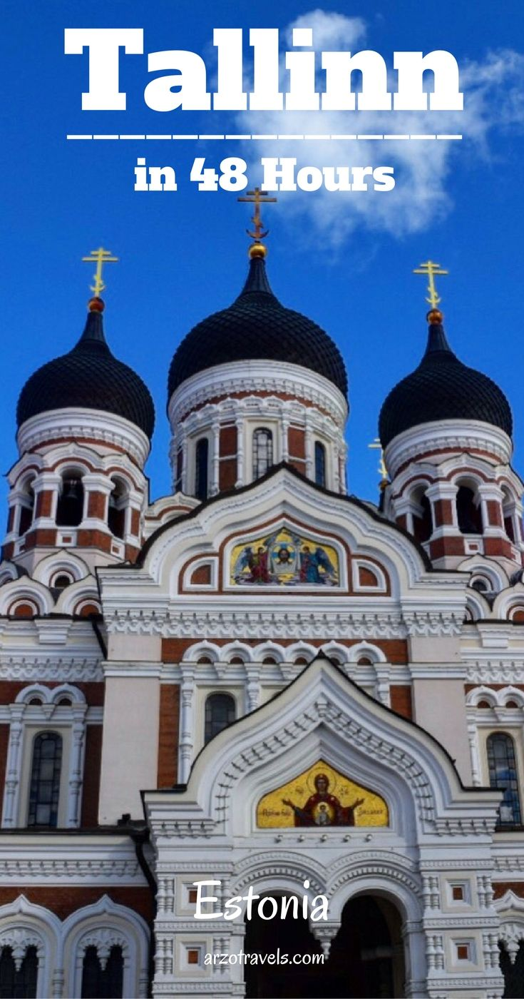 Tallinn in 48 hours. Places and things to see and do in Estonia´s capital, incl. a review of the Tallinn Card.
