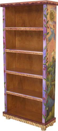 Bookcase    LivingInWMBG * via Ann Pearman onto Love of Sticks Painted Furniture