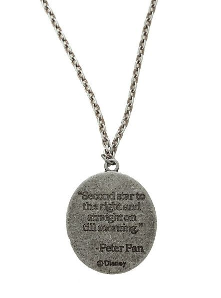 Disney Peter Pan Quote Necklace | Hot Topic