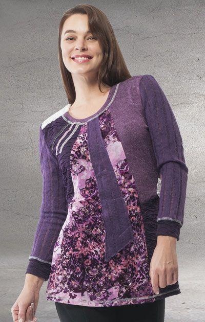 Orientique- Grand Optimist Mixed Fabric T-Shirt