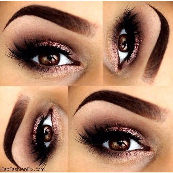 Beauty How to do classic smokey eye makeup look tutorial? ❤ liked on Polyvore featuring beauty products, makeup, eye makeup, eyes and beauty