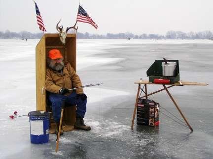 motorized ice fishing sled - Google Search